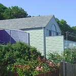 boathouse build gurnard isle of wight