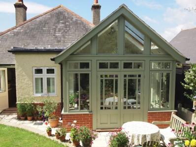 Garden Room Extension Gurnard Tyson Building Projects